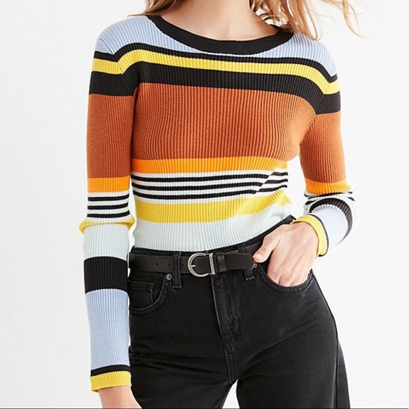 f0dfad69a Urban Outfitters Keira Crew Neck Striped Sweater. M 5abf22199d20f03c540010c5